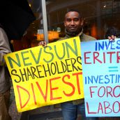 Confronting slavery with Nevsun shareholders