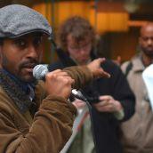 Organizer Daniel Tseghay