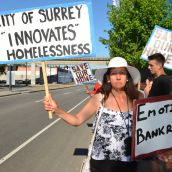 Surrey trailer park residents mobilize to save homes