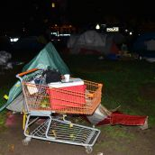 Cops Blink on Tent City Takedown