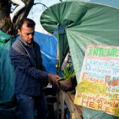 Victoria Eviction Notice Increases Resolve in Tent City