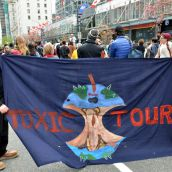 Toxic Tour takes to the streets