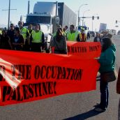 Israeli ships protest - Vancouver