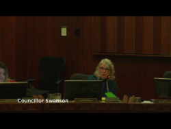 Jean Swanson Tells Council about Class