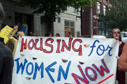 4th Annual Power of Women March for Women's Housing