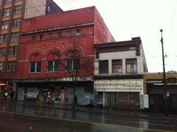 Pantages Theatre and ajoining properties