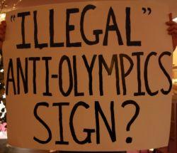 Olympics Sign // Miné Salkin