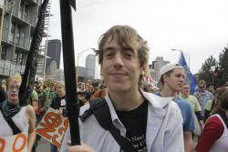 "Indymedia Reporter Detained in ""No Mans Land"" on his way to Vancouver Olympics"