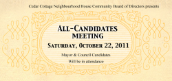 An Invitation to Vote for *Some* Candidates