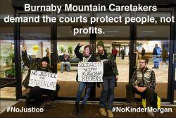 Burnaby Mountain Caretakers Take Action