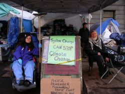 Dedicated Logistics Volunteers at Occupy Vancouver