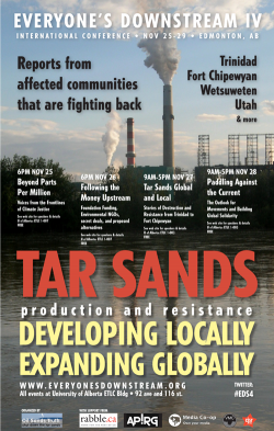 Community members gather to strengthen movement against tar sands extraction worldwide