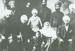Vancovuer, British Columbia early 1900's -Several Sikh community leaders are shown in this picture. Sikh pioneers fiercely advocated for the rights of all Sout-Asians including Hindus and Mulsims in Canada.