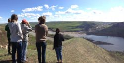Site of proposed Site C dam