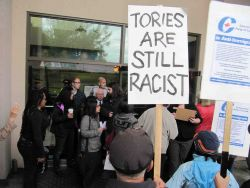 protest in surrey