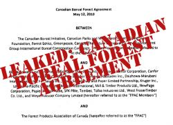 Leaked Copy of the Boreal Forest Agreement