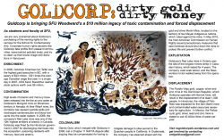 Goldcorp, Corporate Education and Gentrification Forum