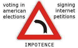 Political Impotence & Slacktivism
