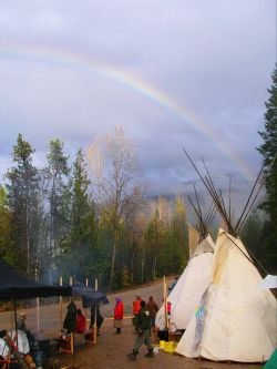 Sinixt Nation Establishes Slhu7kin Protection Camp