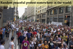 An open letter to peaceful protesters