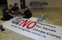 Idle No More, Downtown East Side Community Groups Endorse Enbridge Noise Demonstration