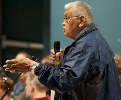 Russell Jones of Pacheedaht First Nation