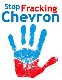Day of Action against Chevron and the Pacific Trail Pipeline