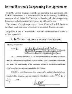 Darren Thurstons Co-operating Agreement - click to enlarge