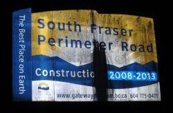 SFPR billboard sabotaged