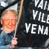 Fuck Trump: Vancouver welcomes Trump Tower