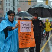 DTES Women March for Housing for All