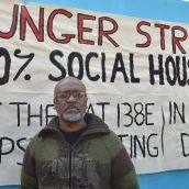 Hunger Strike Targets Gentrification/Housing