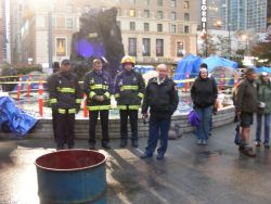 Fire Department Official Sparks Conflict at Occupy Vancouver